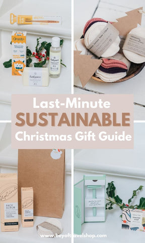Last Minute sustainable Christmas gift guide