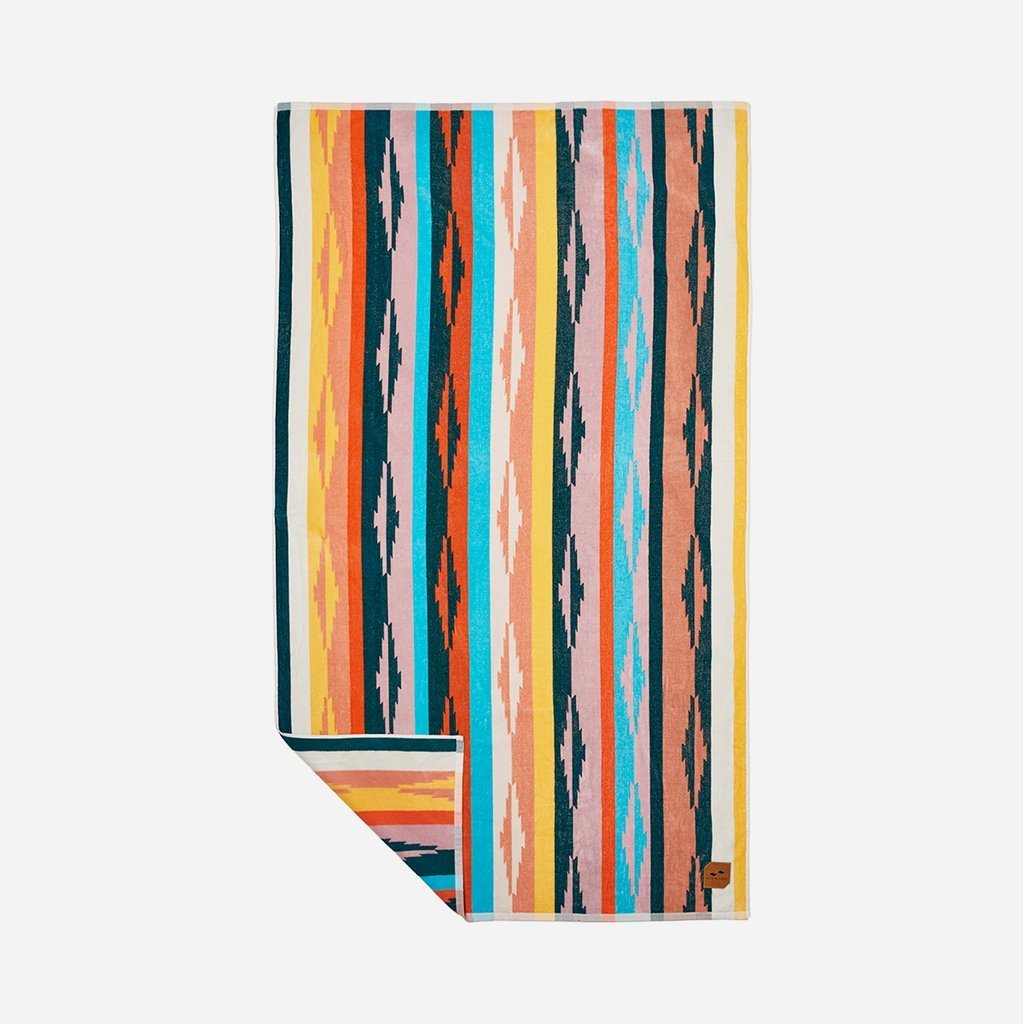 Sustainably sourced cotton beach towel - Duvall