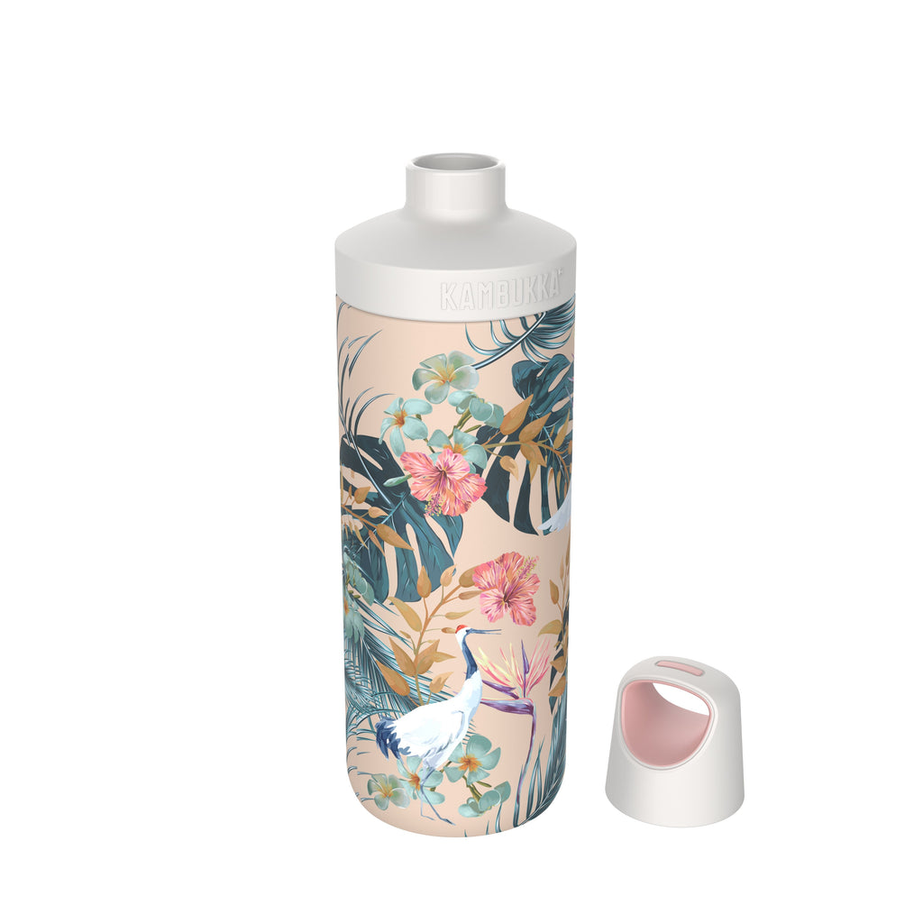 Reno Insulated Water Bottle - Paradise Flower