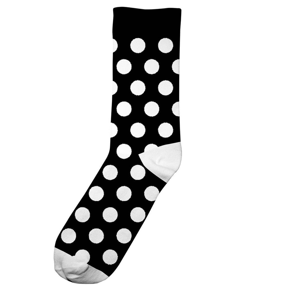 Dedicated Organic Cotton Socks - Dots Black
