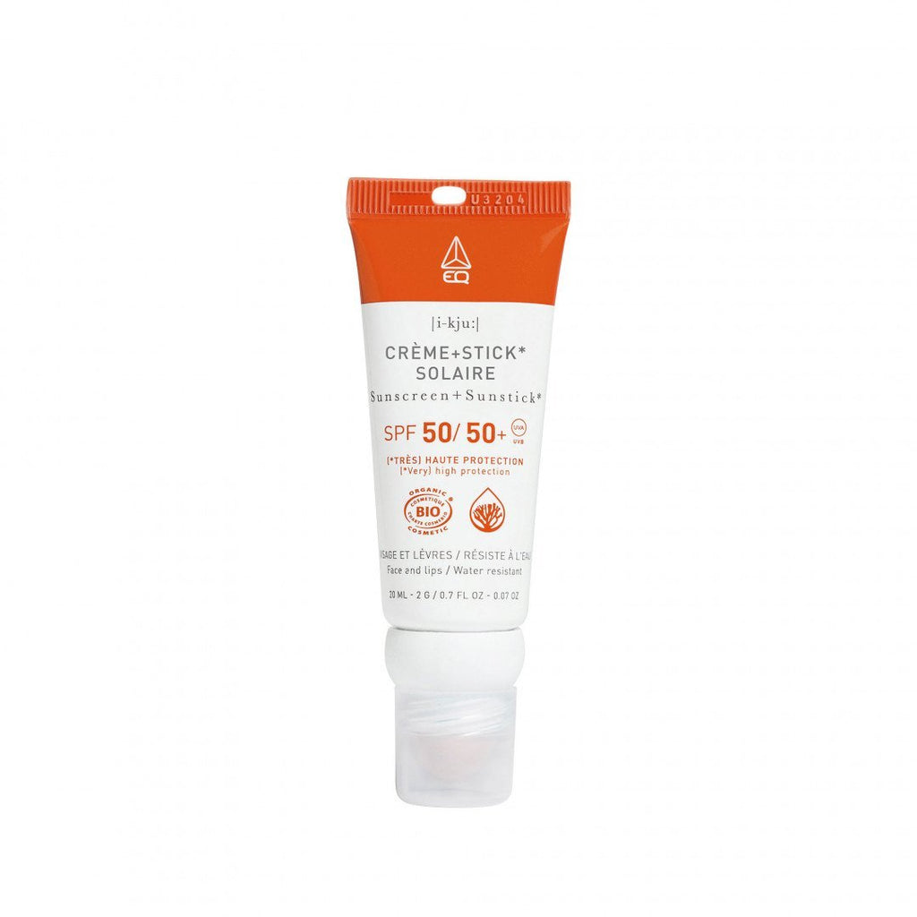 EQ - Organic Sunscreen Combo Stick SPF 50 - Water Resistant