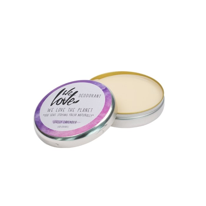 Natural Deodorant Can - Lovely Lavender