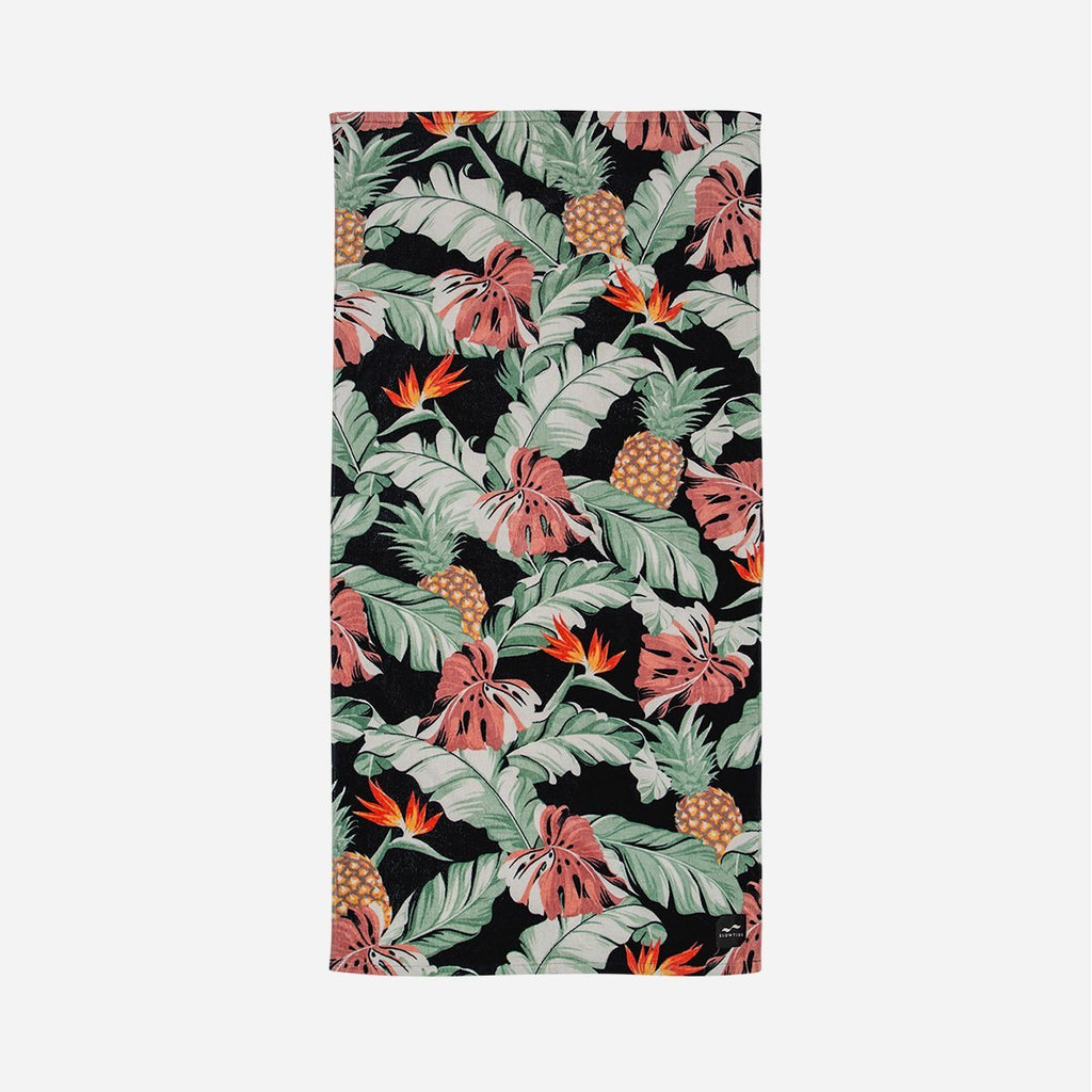 Sustainably sourced cotton beach towel - Makai