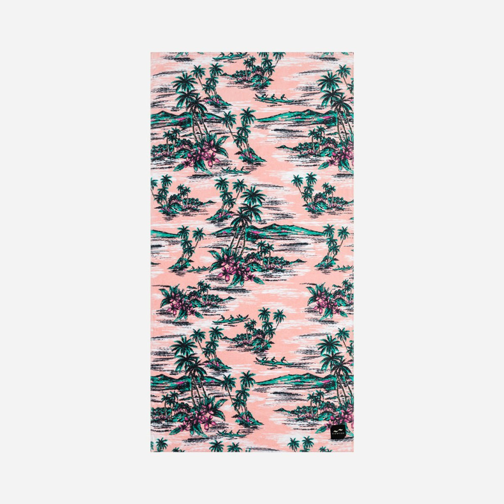 Sustainably sourced cotton beach towel - Outrigger