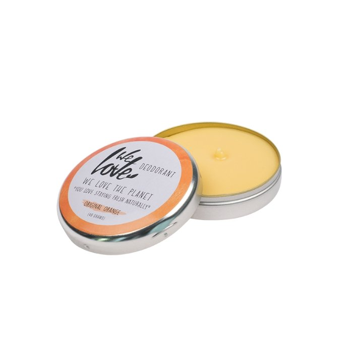 Natural Deodorant Can - Original Orange