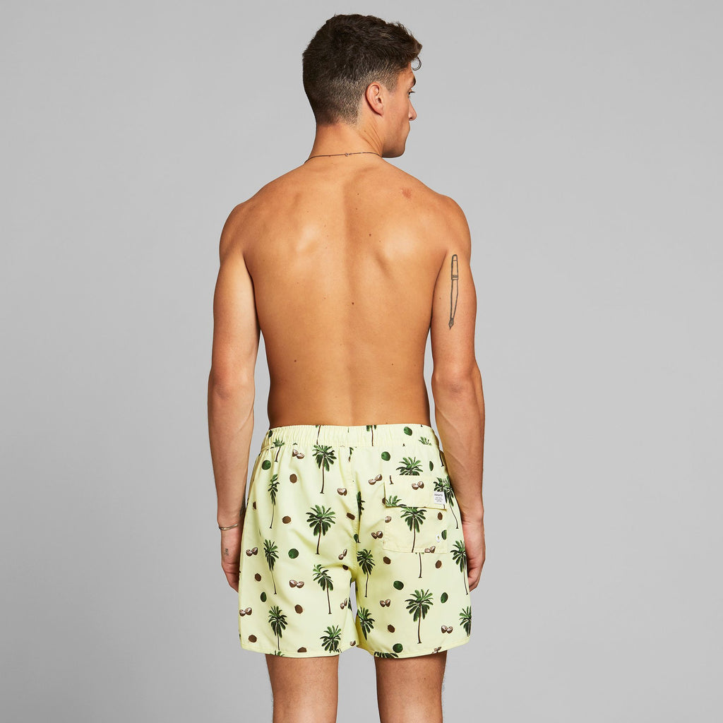 Dedicated Swim Shorts Sandhamn - Coconuts Yellow