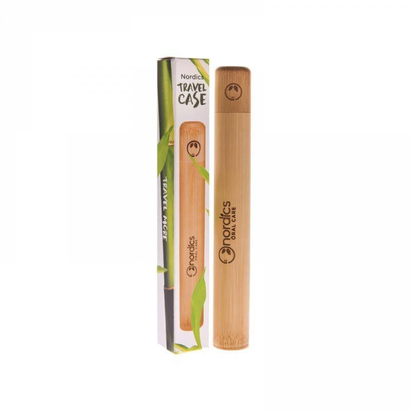 Nordics - Bamboo Toothbrush Case