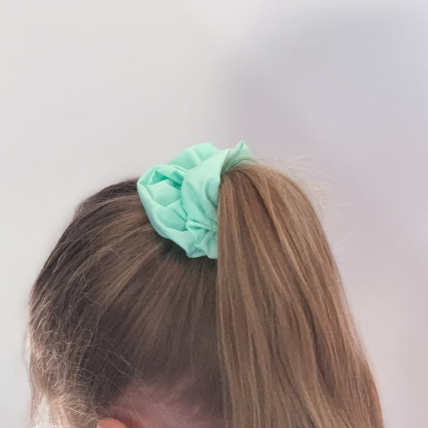 Mint Scrunchie