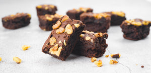 Walnut Brownie Bars | 10s