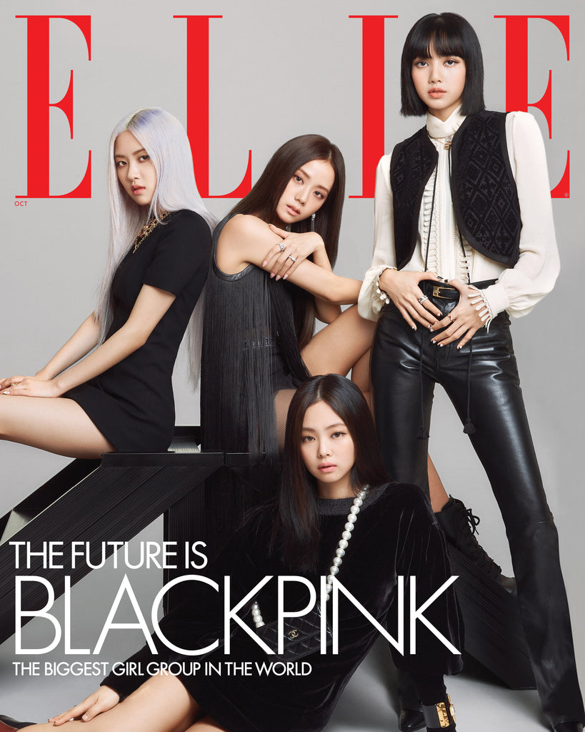 Blackpink Elle Magazine October Cover