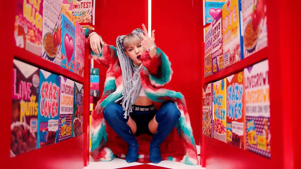 BLACKPINK Lisa Kill this Love Music Video