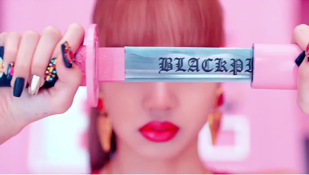 Blackpink Lisa Sword Nails Ddu-Du Ddu-Du