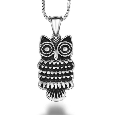 Collier Hibou, Mode Titane