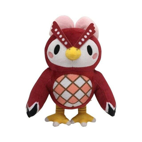 Peluche Hibou Animal Crossing CélestePeluche Hibou Animal Crossing Céleste