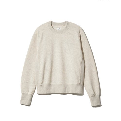 SWEAT SHIRTS CREW NECK(OATMEAL) - A'r139 Kamakura