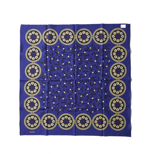SATIN SCARF(INK BLUE) - A'r139 Kamakura