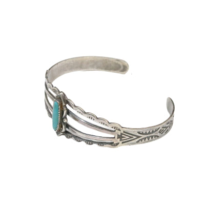 VINTAGE BELL TRADING POST TURQUOISE CUFF BRACELET - A'r139 Kamakura