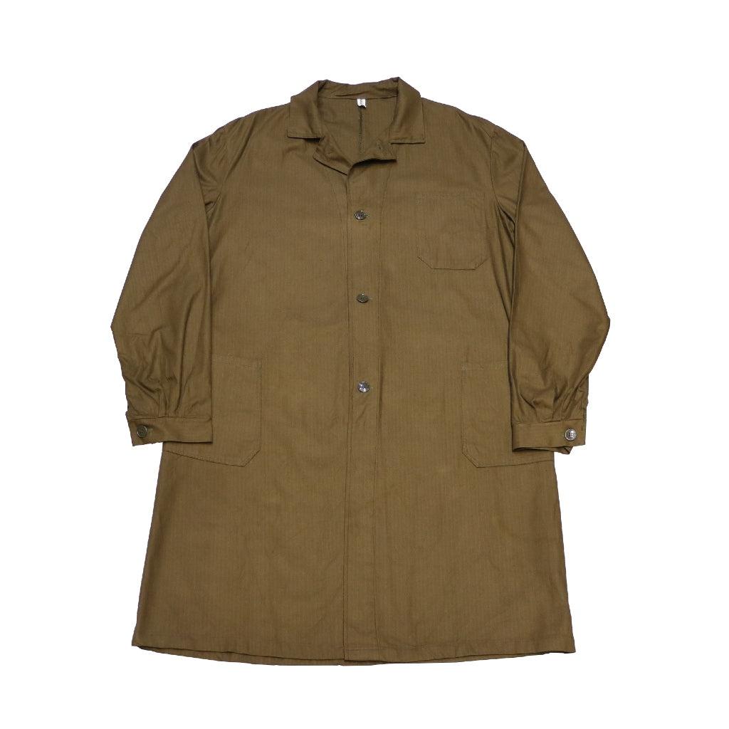 1970's CZECH MILITARY WORK COAT DEAD STOCK - A'r139 Kamakura
