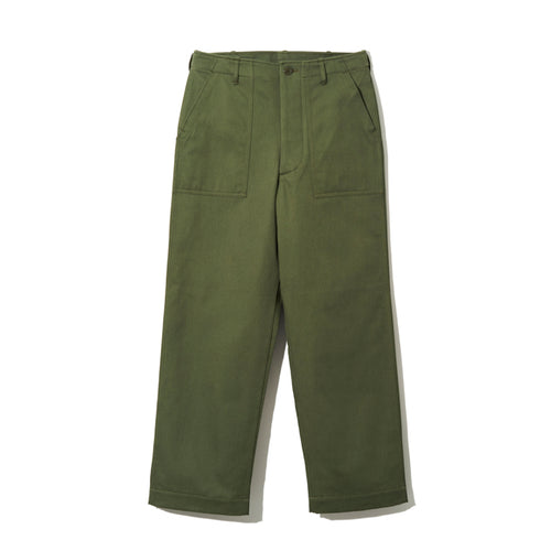【YANKSHIRE】FATIGUE PANTS 1960's SATEEN - A'r139 Kamakura