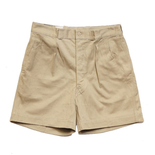 FRENCH ARMY M52 CHINO SHORT PANTS DEAD STOCK - A'r139 Kamakura
