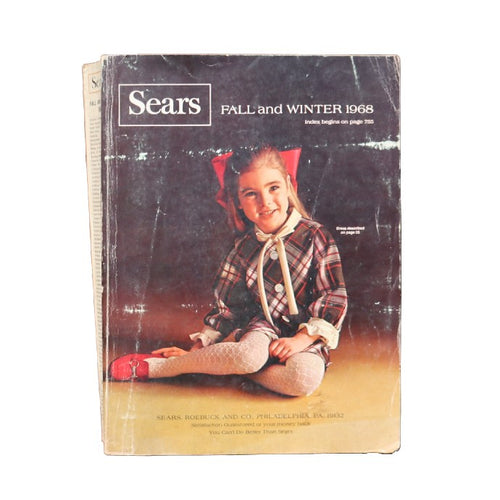 CATALOGUE AUTOMNE-HIVER 1968 DE SEARS, ROEBUCK AND CO. - A'r139 Kamakura
