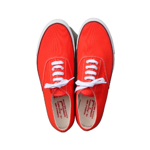 WAKOUWA DECK SHOES LOW(ORANGE) - A'r139 Kamakura