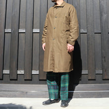 画像をギャラリービューアに読み込む, 1970's CZECH MILITARY WORK COAT DEAD STOCK - A'r139 Kamakura