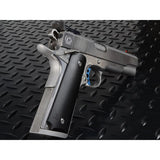 Strike Industries PX-15 Polymer 1911 Grips Non-textured, Semi-Gloss Black