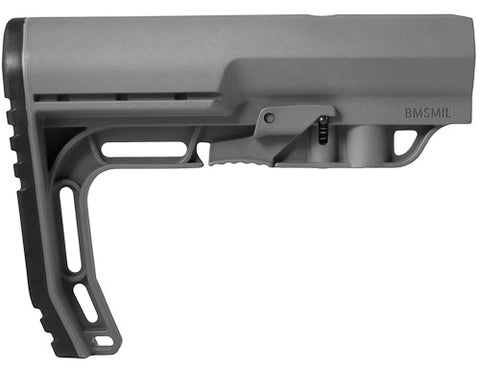 Mission First Tactical Battlelink Minimalist Stock (BMSMIL) Grey