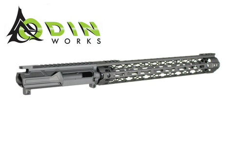 "Odin Works Billet Upper & 15"" MLOK O2 Lite Rail"
