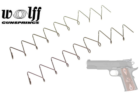 Wolff Gunsprings 1911 .45 ACP Magazine Springs 7 & 8 Round