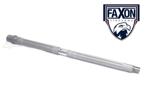 "FaXon Firearms 16"" 300 BLK Barrel HEAVY FLUTED, CARBINE-LENGTH, 416-R STAINLESS MATTE"