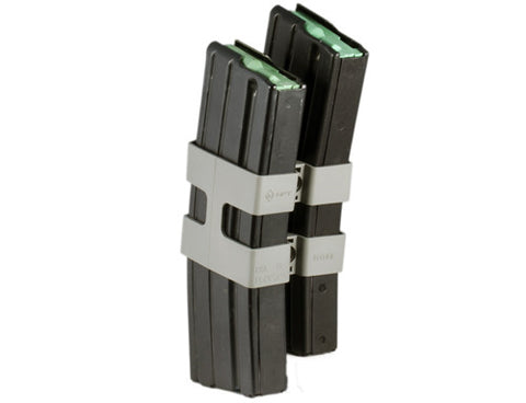Mission First Tactical M16/AR15 Magazine Coupler Grey