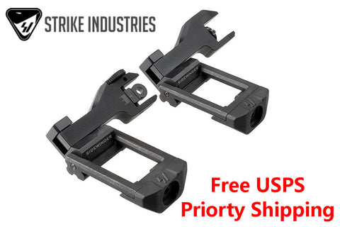 Strike Industries Sidewinder BUIS Back Up Iron Sights