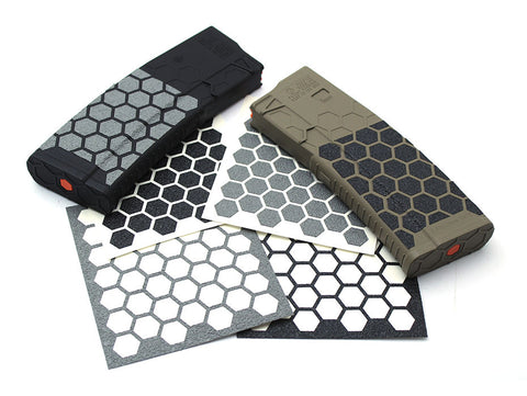 Hexmag Magazine Grip Tape Grey