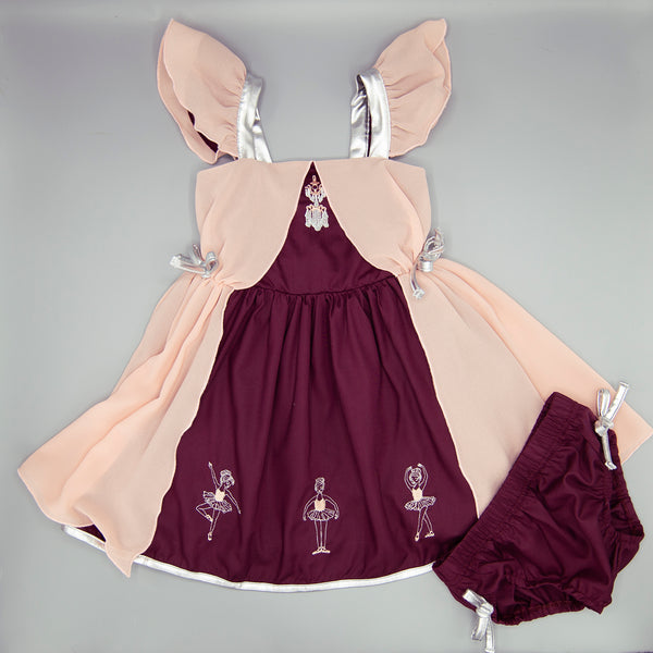 Back to Dance Dress + Bloomer