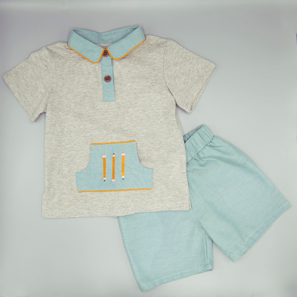 Pencil Pocket Boys Set
