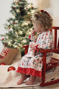 Holly Jolly Christmas Gown