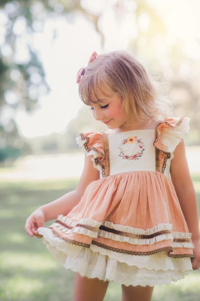 Harvest Blossom Tunic Set + Pettiskirt