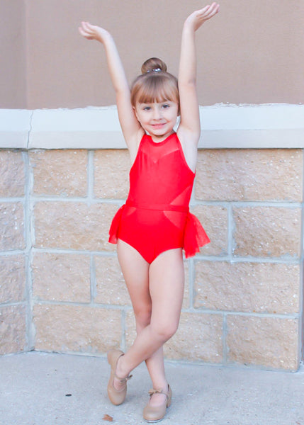 Candy Apple Cutie Leotard