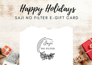 Saji No Filter E-Gift Card