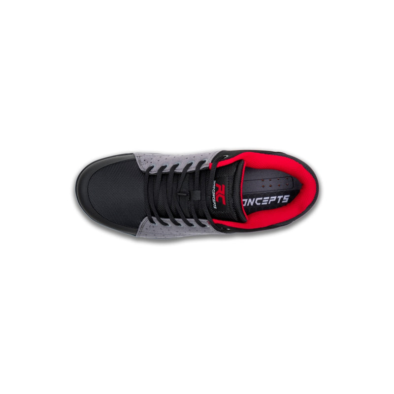 Ride Concepts Mens Livewire (Charcoal/Red)