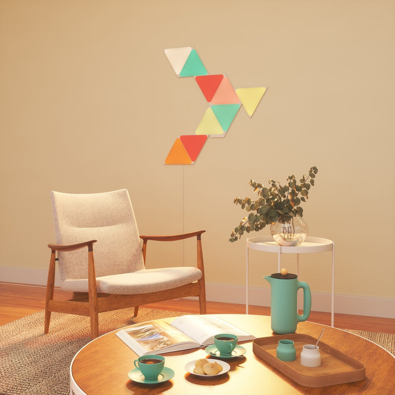 Nanoleaf Shapes - Triangles Starter Kit  (9 Panels)
