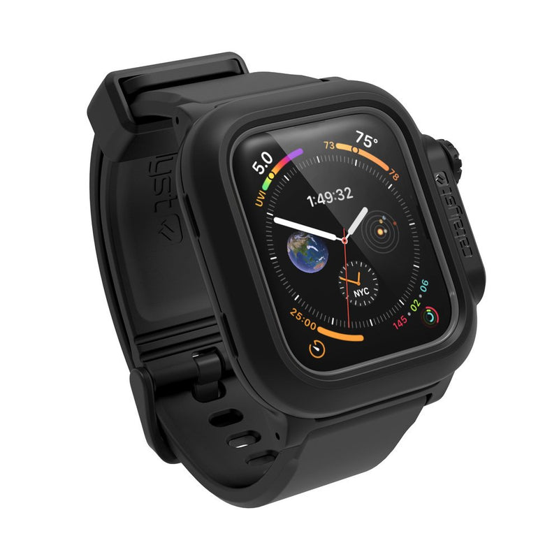 Catalyst Waterproof Case for 44mm Apple Watch Series 6/SE/5/4 (Stealth Black)