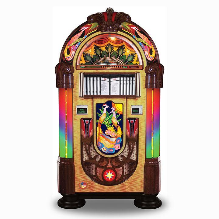 Rock-Ola Bubbler Peacock CD Jukebox