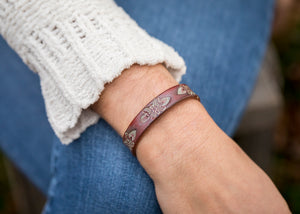 Leather Treasures MV Bracelet