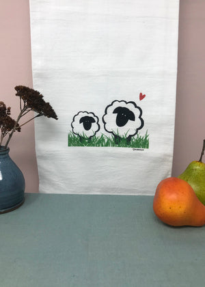 Love Ewe Flour Sack Towel