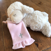 Sheep with Blankie - Pink or Blue