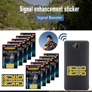 🔥 [5 PCS BUNDLE PACKAGE] 🔥 SOY™ Cell Phone Signal Enhancement Stickers - Signal Booster