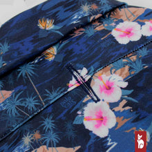Load image into Gallery viewer, Hawaien Shirt for Cat Sphynx, Dark Blue Island | Sphynx Cat Clothing